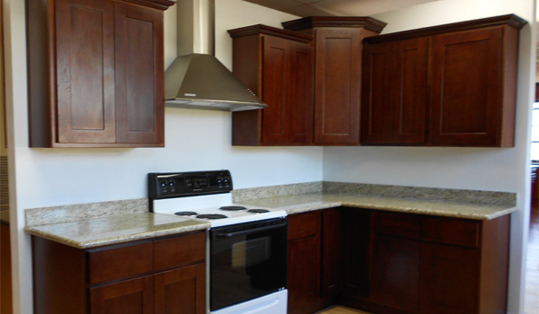 Cinnamon Alder Cabinets  Beaverton Kitchen Cabinets & Stone Inc